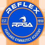 REFLEX the Pearland Gymnastics Academy Logo